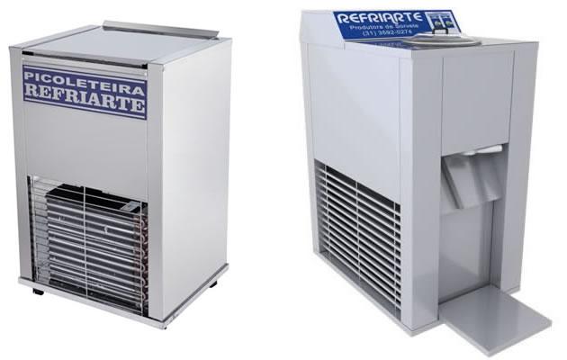Maquina sorvete e picoleteira Refriarte