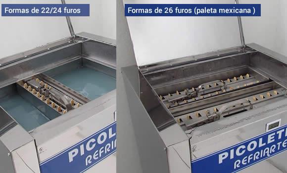 Maquina de paleta mexicana e picole