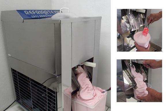 Maquina de sorvete extracao automatica